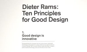 Ten Principles for Good Design by Dieter Rams – SF MOMA