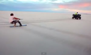 salt-boarding