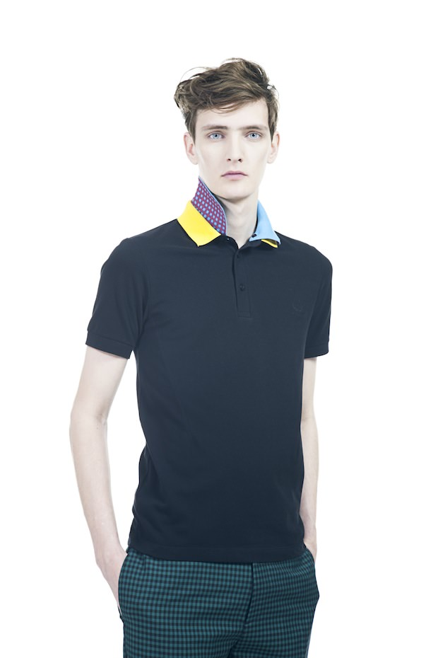 gusmen fred perry raf simons for ss13. Black Bedroom Furniture Sets. Home Design Ideas