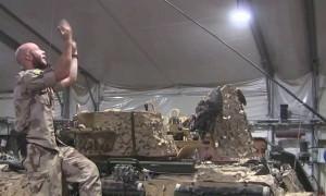 Swedish Marines' Greased Lightning Dance Parody