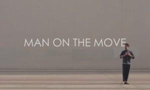 """HERMÈS """"Man on the move"""""""