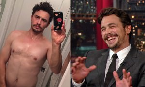 James Franco's Instagram Selfies