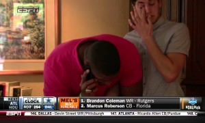 Michael Sam Kiss His Boyfriend After Making History