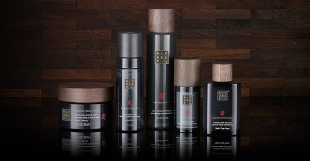 Urban Samurai, Groomed to Perfection with Rituals New Line for Men