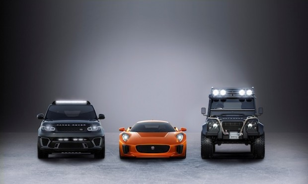 Jaguar and Land Rover partner with latest James Bond movie, Spectre