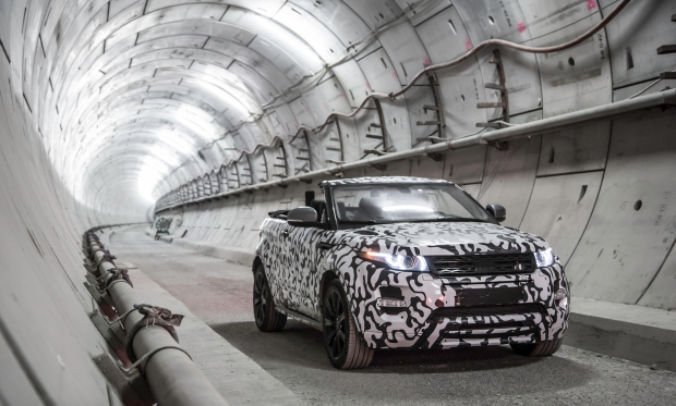 Land Rover presents the World's First Premium Compact SUV Convertible