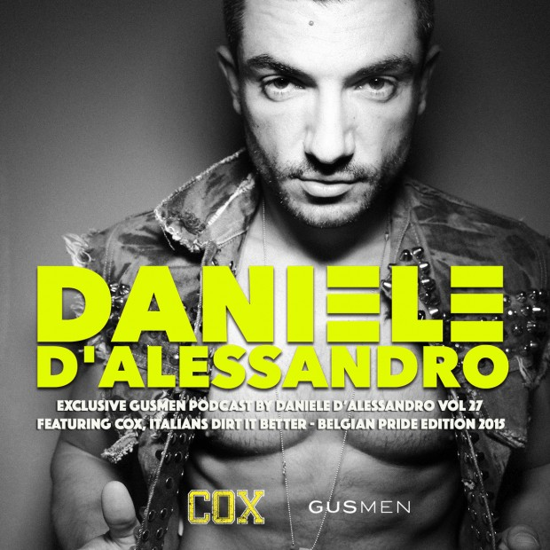Exclusive GUSMEN Podcast by Daniele D'ALESSANDRO featuring COX, Italians dirt it better!