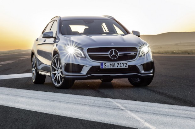 Mercedes Benz GLA:  Compact Crossover with Responsive Handling and Dramatic Styling