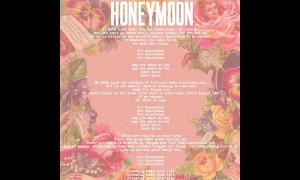 Lana Del Rey – Honeymoon