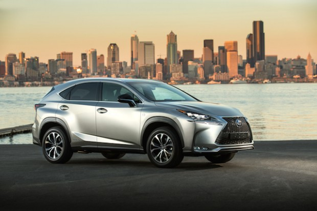 LEXUS NX:  Compact SUV with a Strong Styling