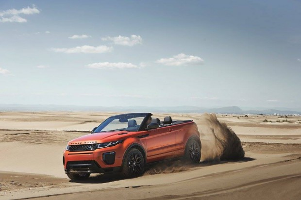 The Range Rover Convertible Unveiled