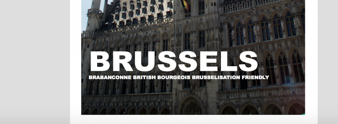 Brussels • Travellings • By Jean-Paul Masse de Rouch