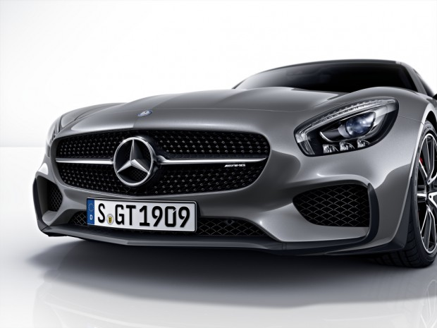 MERCEDES AMG GT:  Large, Fast, Loud and Proud