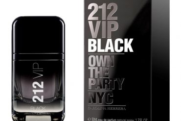 Carolina Herrera 212 VIP Black: The Perfect Clubbing Scent