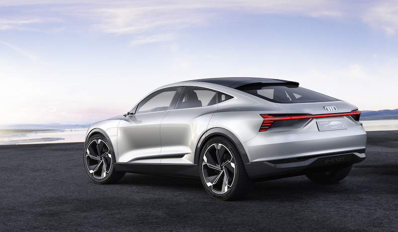 AUDI 'e-tron' Sportback:  Charged with Excitement