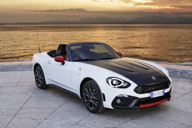 Fiat Abarth 124 Spider:  pretty funky and sporty