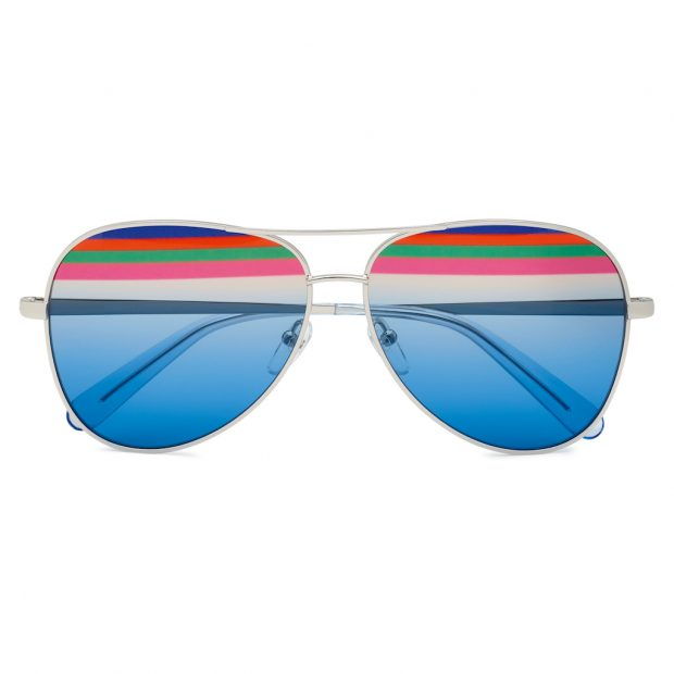 The perfect rainbow-inspired eyewear by Ferragamo