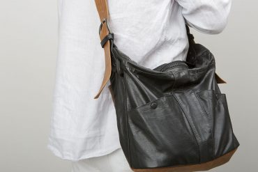 Eric Beauduin's bags: upcycled fashion accessories