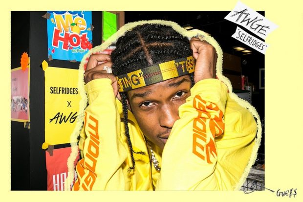 GUESS x A$AP Rocky London capsule collection FW2017