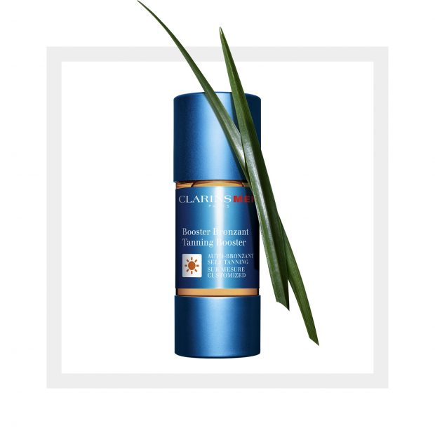 ClarinsMen Tanning Booster: easy way to boost your colour