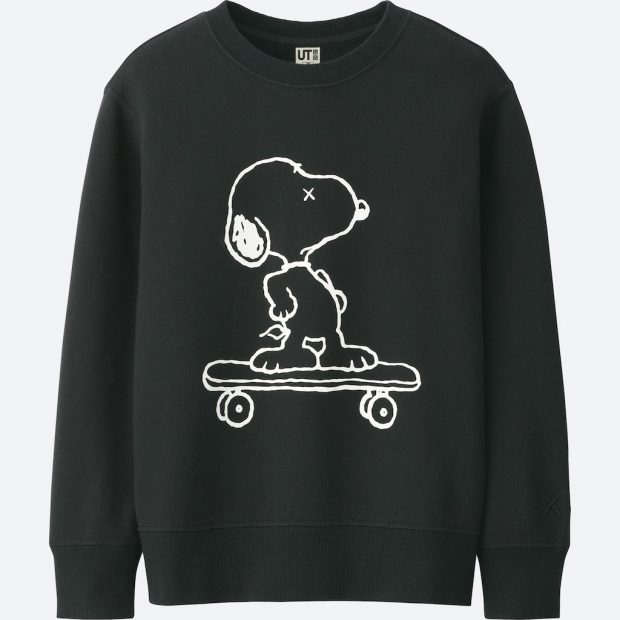 Snoopy Stars in UNIQLO's Second KAWS x PEANUTS UT Collection