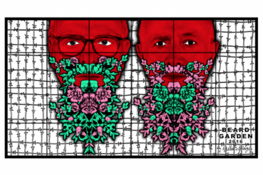 Exhibition: « THE BEARD PICTURES », Gilbert & George.