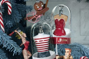 Jean Paul Gaultier Le Male in a collector's Snow Ball edition