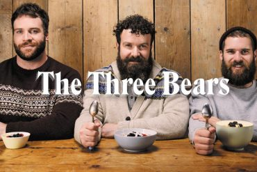 The Three (Gay) Bears, the stars of Rowse Honey's hairy pro-porridge cookery show