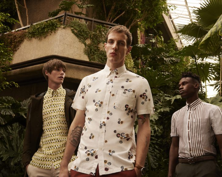 Ben Sherman SS18 Ad Campaign Archive Shirts C4
