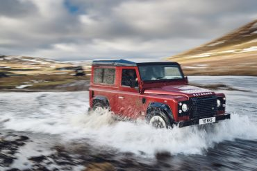 Land Rover launches V8 edition defender to celebrate 70th anniversary
