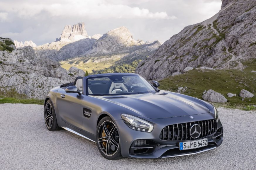 AMG GT C Roadster (R 190), 2016