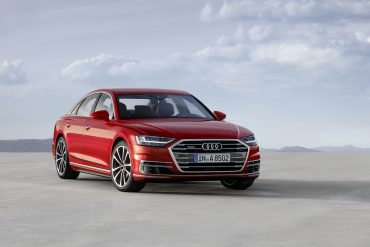 The A8:  a stunning and understated car