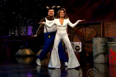 Paula Abdul Performs 'Straight Up' on 'Late Late Show':