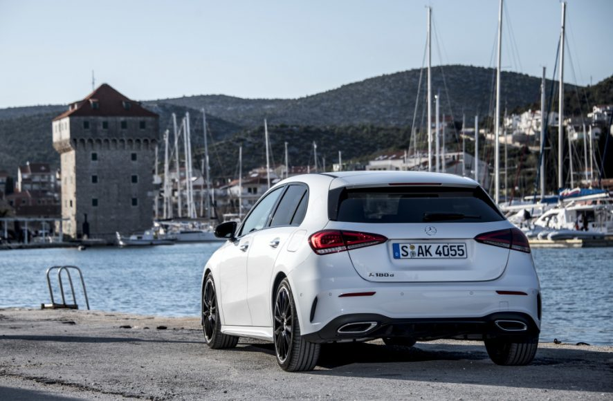 Die neue A-Klasse Kroatien 2018; W177The New A-Class Croatia 2018; W177