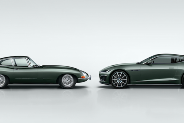 Sixties-inspired Jaguar:  A limited F-TYPE to celebrate E-TYPE 60th anniversary