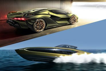 The Italian Sea Group has teamed up with Lamborghini to create a powerful and luxurious yacht